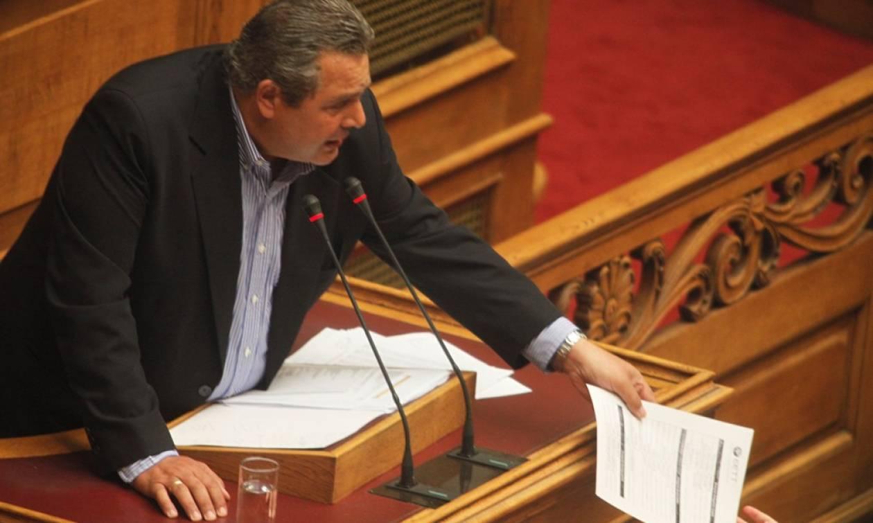 Βουλή - Ασφαλιστικό: «Σκοτωμός» Καμμένου - Θεοδωράκη (videos)