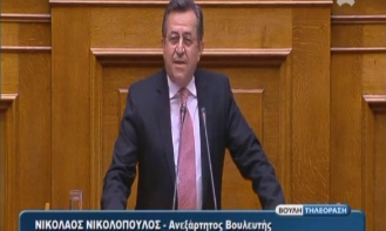 Νικολόπουλος: «Η ανάπτυξη της χώρας δεν θα έρθει με την βοήθεια που θα δώσει ο παππούς και η γιαγιά»