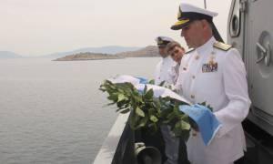 Εκδήλωση μνήμης για τη βύθιση του αντιτορπιλικού Ψαρά (pics)
