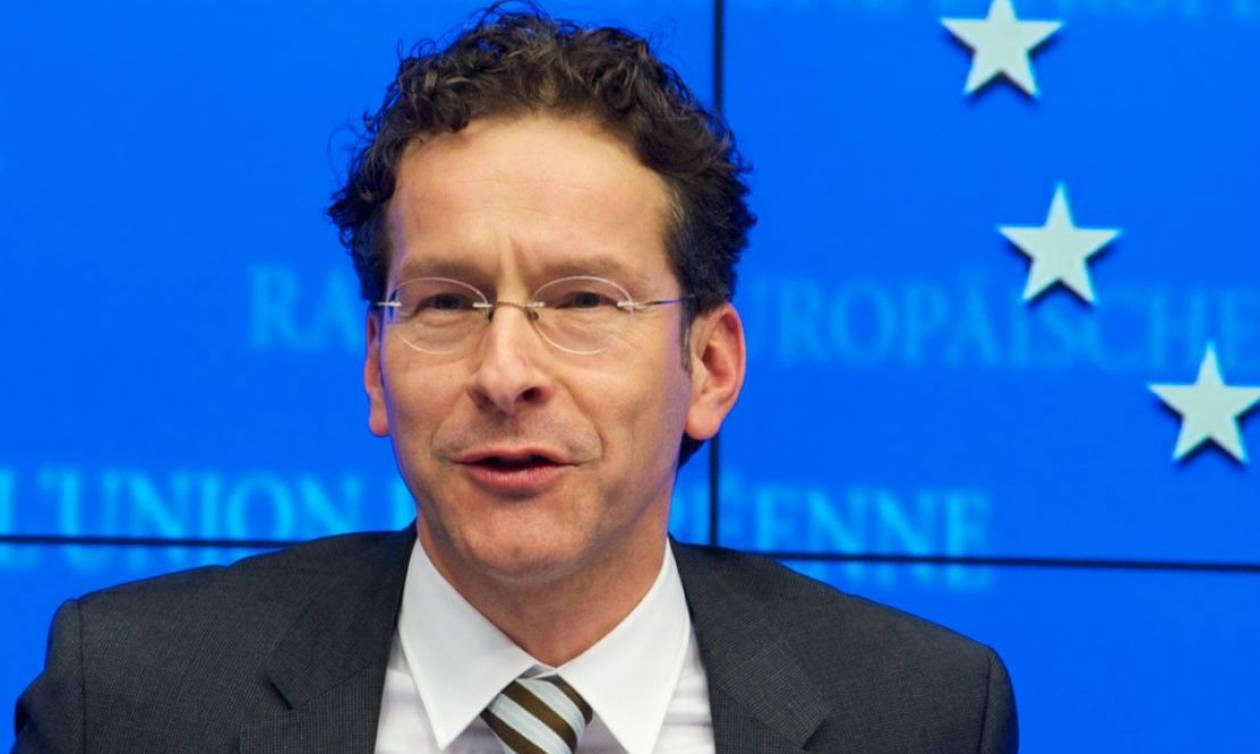 Ντάισελμπλουμ: Η ελάφρυνση του ελληνικού χρέους μπορεί να περιμένει
