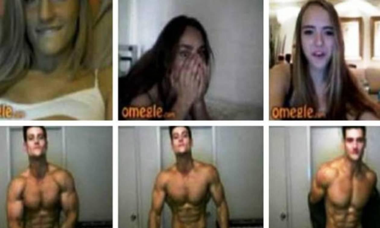 Έτσι αντιδρούν οι γυναίκες όταν βλέπουν σώμα μοντέλου στο Chatroulette (video)