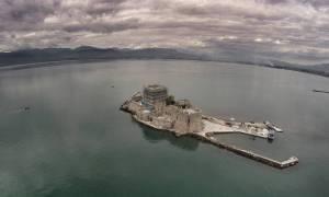 Εντυπωσιακές αεροφωτογραφίες απο το Ναύπλιο