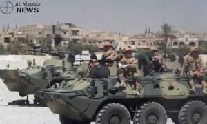 Al Masdar News: «Η Ρωσία δημιουργεί στρατιωτική βάση στην Παλμύρα»
