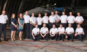 Επίσκεψη Σχολής Εθνικής Άμυνας της Σουηδίας στην 115 ΠΜ (pics)