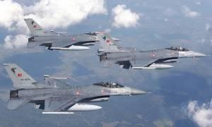 Νέες παραβιάσεις τουρκικών μαχητικών στο Αιγαίο