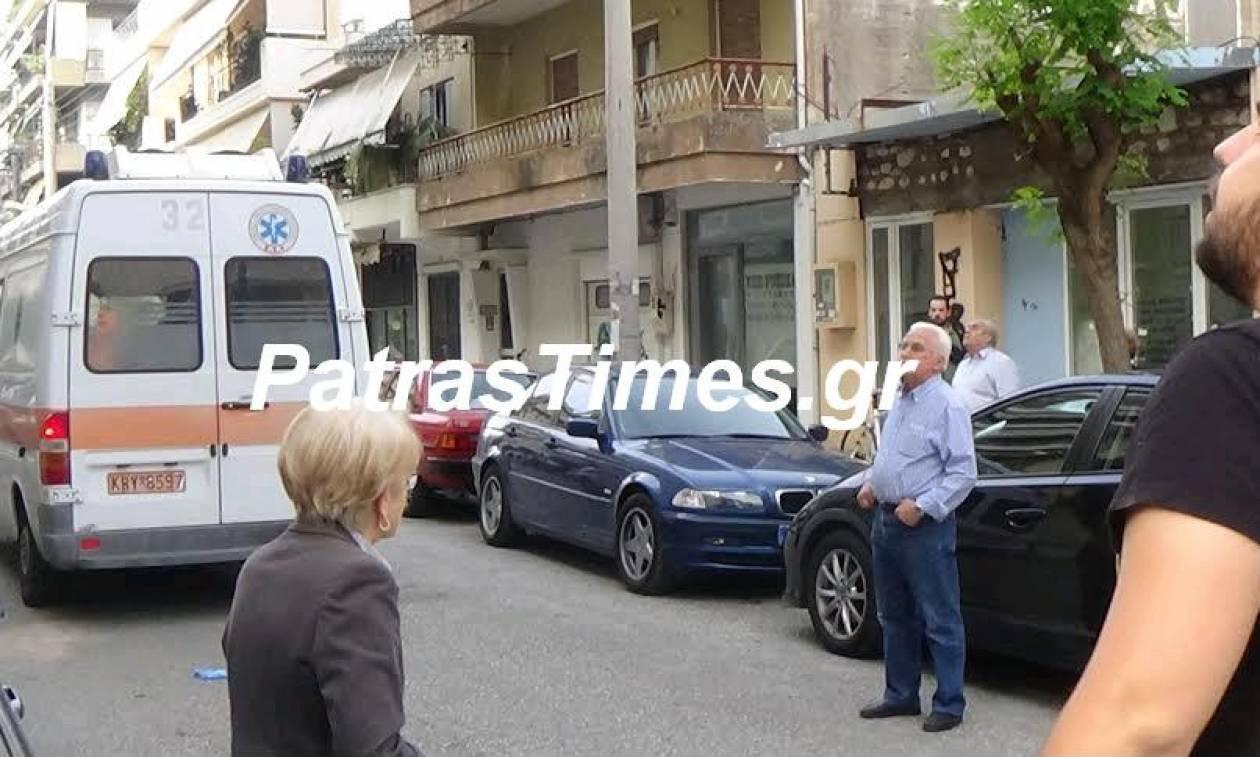 Σοκ στην Πάτρα: Καθηγητής «βούτηξε» από το μπαλκόνι κι έπεσε πάνω σε αυτοκίνητο (photo)