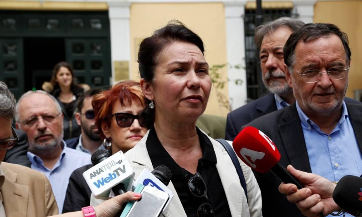Μήνυση για την επίθεση σε βάρος της από άνδρες των ΜΑΤ κατέθεσε η Σόφη Παπαδόγιαννη