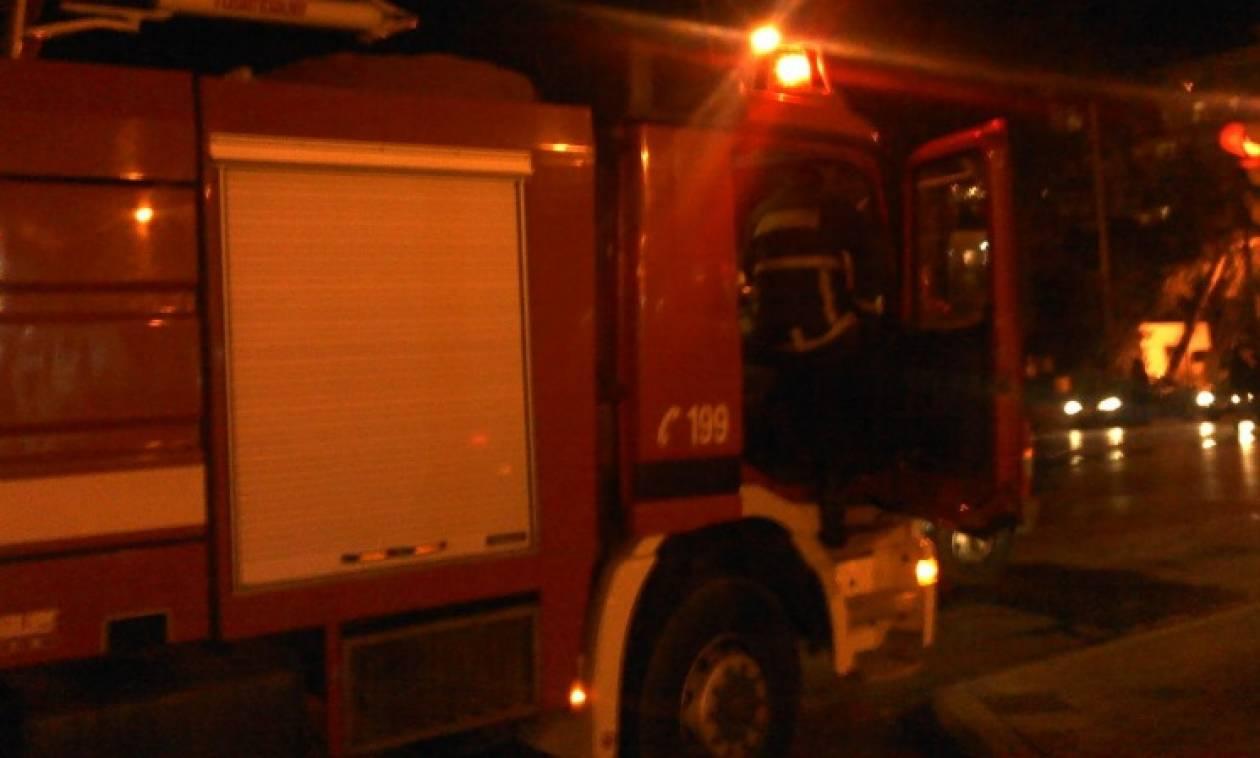 Πυρκαγιά σε μονοκατοικία στη Θεσσαλονίκη