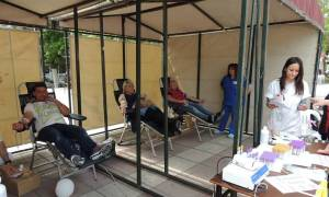 Εθελοντική αιμοδοσία από τον Ερυθρό Σταυρό στο Κιλκίς