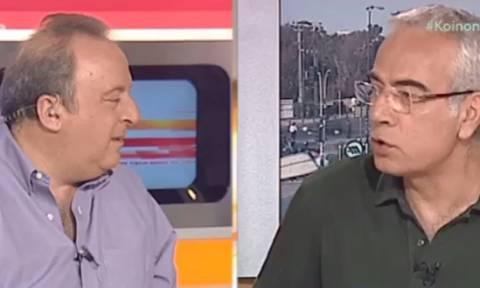 Δάκρυσαν on air Καμπουράκης - Οικονομέας για τους απλήρωτους εργαζόμενους του Mega (video)