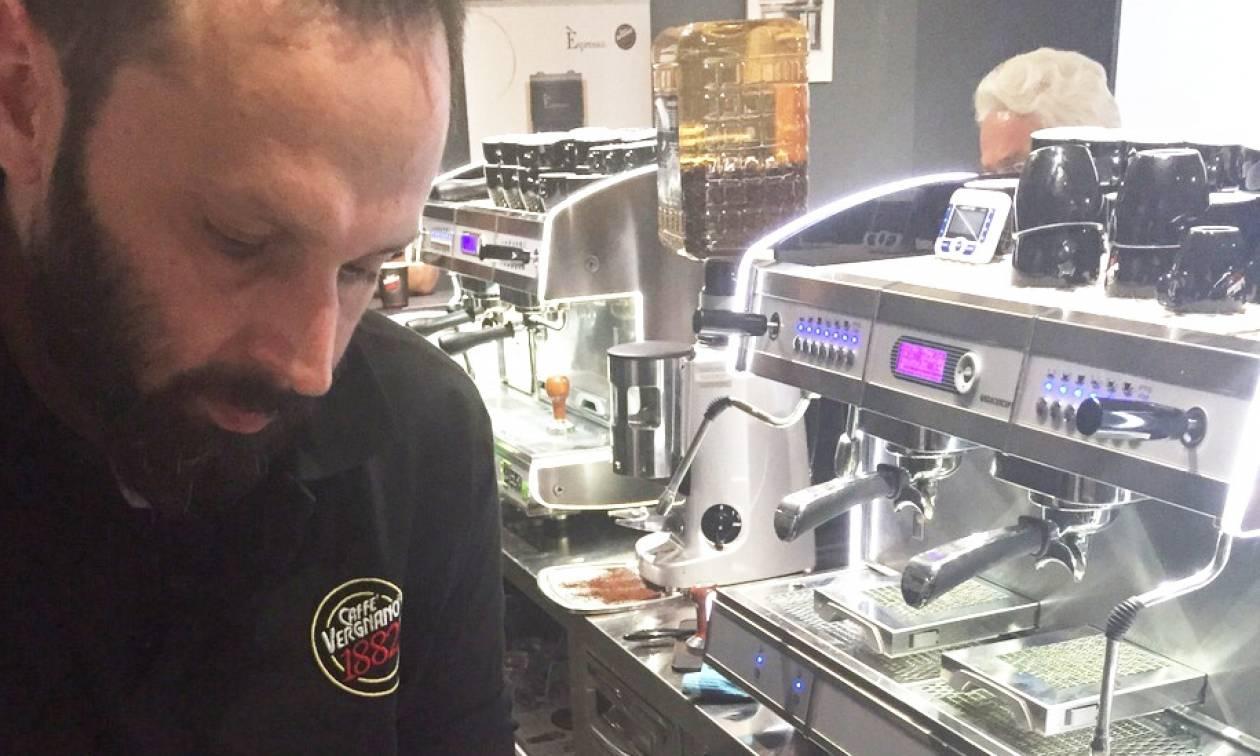 Best Barista 2016 από τον Caffè Vergnano