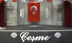 Απίστευτη πρόκληση από τους Τούρκους: Έστησαν παζάρι σε χριστιανικό ναό στο Τσεσμέ
