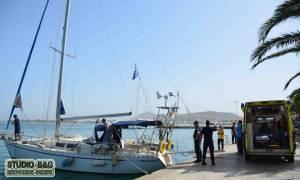 Τραγικό παιχνίδι της μοίρας: Θρήνος για τον Άρη Καλόθη - «Έφυγε» πάνω στο σκάφος του