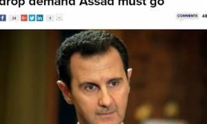 Πρώην σύμβουλος Ομπάμα: Οι ΗΠΑ να εγκαταλείψουν την ιδέα απομάκρυνσης του Άσαντ