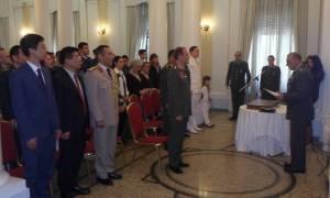 Τελετή Αποφοίτησης στη  Στρατιωτική Σχολή Ξένων Γλωσσών (pics)
