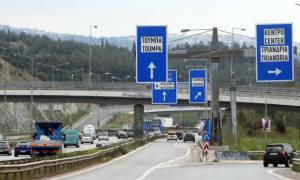 Προσοχή! Κλειστή ως το απόγευμα η δυτική εσωτερική περιφερειακή οδός Θεσσαλονίκης