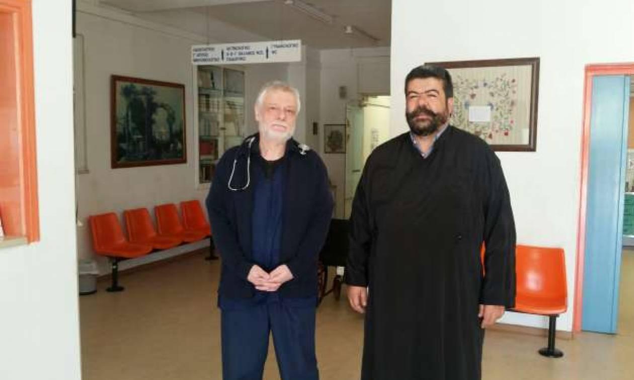 Στο άρμα του Αϊ Γιώργη το Κέντρο Υγείας Ανωγείων