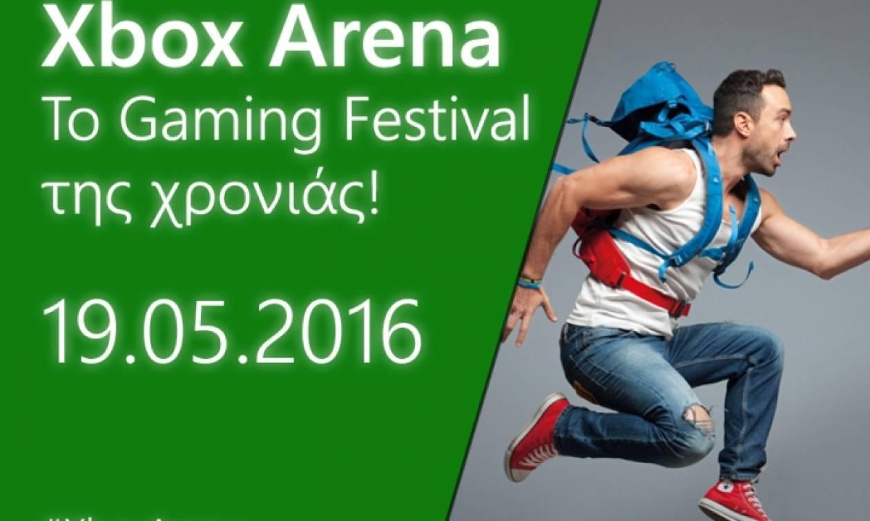 To Xbox Arena Festival στις 19 Μαΐου δίνει νέα διάσταση στο gaming και τη διασκέδαση