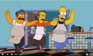 Όταν ο Homer Simpson έγινε Έλληνας για ένα ολόκληρο επεισόδιο (Vid)