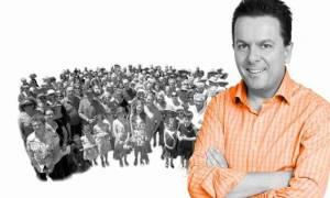 Στην κούρσα της προεκλογικής εκστρατείας ο ομογενής Νικ Ξενοφώντας