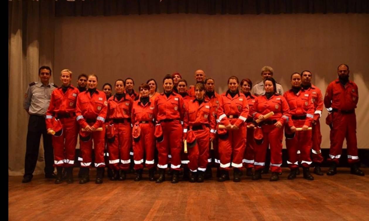Ερυθρός Σταυρός: Ορκίστηκαν οι νέοι Εθελοντές Σαμαρείτες του Τμήματος Αμαλιάδας