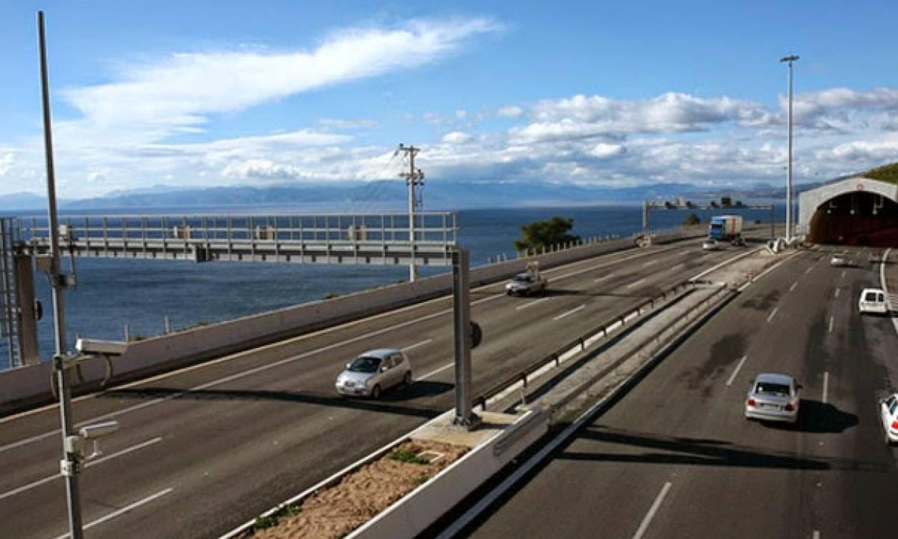 Κυκλοφοριακές ρυθμίσεις στην νέα εθνική οδό Κορίνθου - Πατρών την Τετάρτη (18/5)