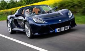 H Lotus μείωσε το βάρος των μοντέλων της πάνω από 200 κιλά