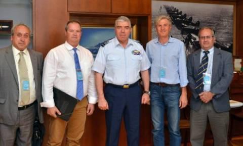 Συνάντηση Αρχηγού ΓΕΑ με την Ελληνική Αεραθλητική Ομοσπονδία