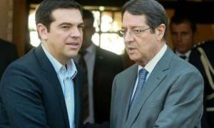 Κυπριακό, ενεργειακά και τριμερείς συνεργασίες στη συνάντηση Αναστασιάδη – Τσίπρα