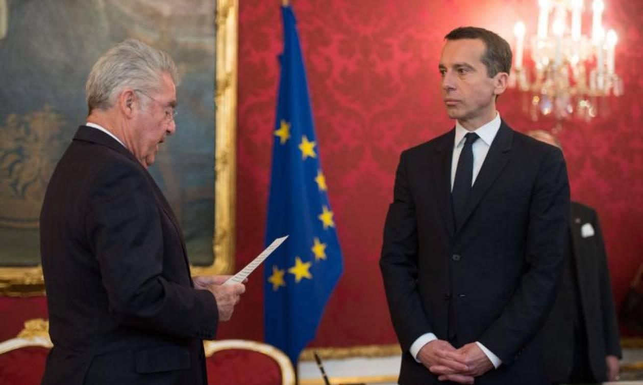 Αυστρία: Αλλαγή πολιτικής προανήγγειλε ο νέος καγκελάριος Κρίστιαν Κερν