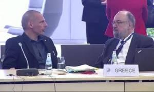 Κοινή δήλωση Βαρουφάκη - Θεοχαράκη: Σε άλλη χώρα οι δηλώσεις Στουρνάρα θα προκαλούσαν bankrun