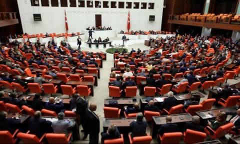 Turkish parliament approves lifting lawmakers' legal immunity
