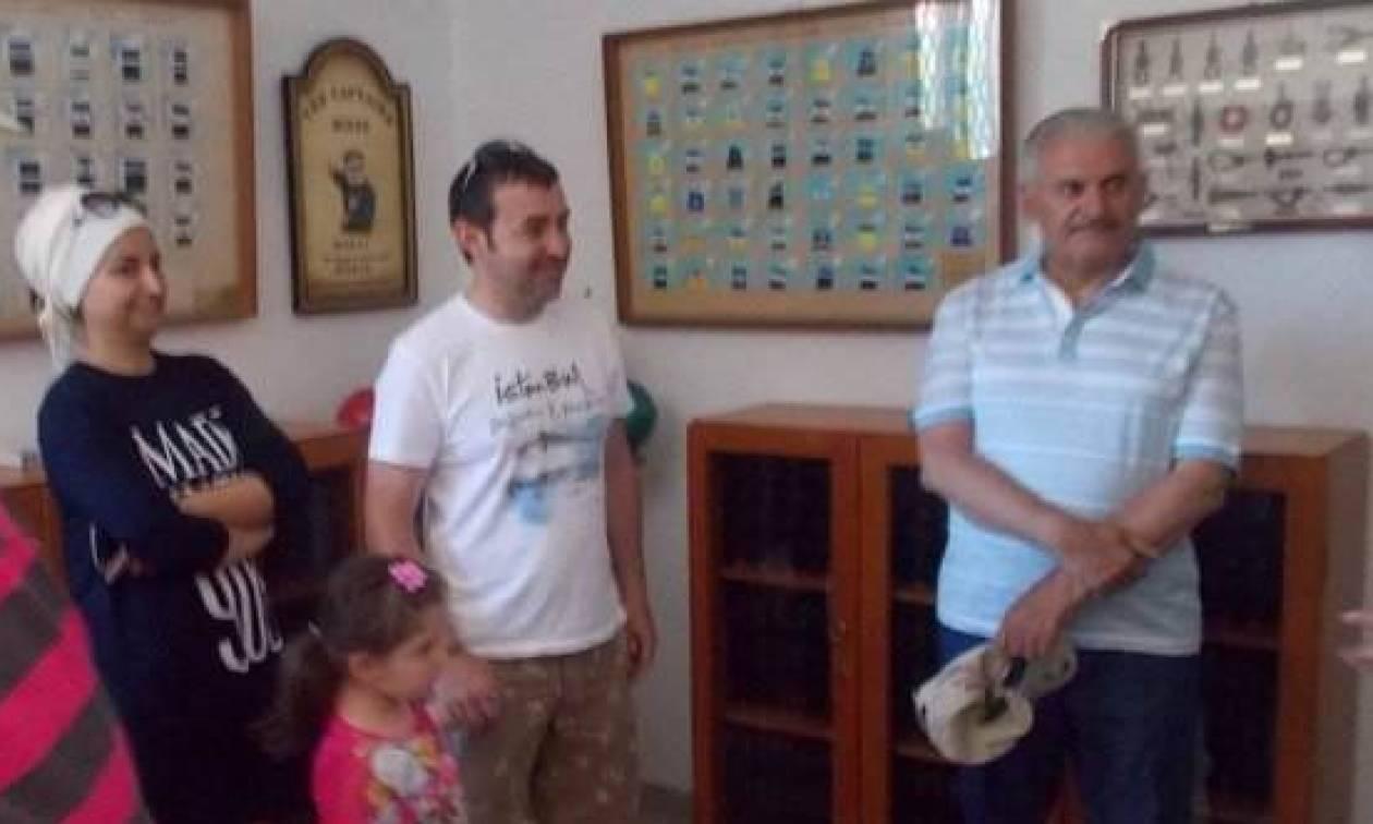 Ο νέος πρωθυπουργός της Τουρκίας συχνάζει...στις Οιννούσες