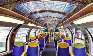 Μοναδικές εικόνες: Τρένα... έργα τέχνης στη Γαλλία!