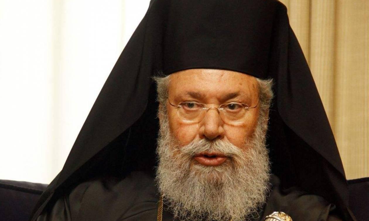Αρχιεπίσκοπος Κύπρου: Λουκέτο στα κοινωνικά παντοπωλεία