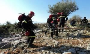 Χανιά: Αγώνας δρόμου για τον εντοπισμό ορειβάτη που χάθηκε στα Λευκά Όρη