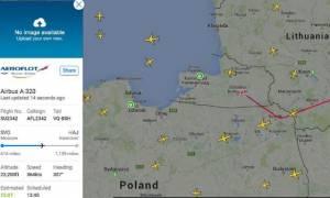 Προσγειώθηκε το αεροσκάφος της Aeroflot που είχε δηλώσει κατάσταση έκτακτης ανάγκης