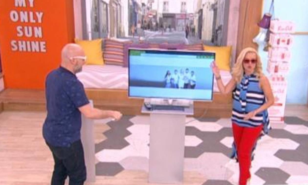 Η απίστευτη γκάφα στο Πρωινό ΣΟΥΚΟΥ: Δεν φαντάζεστε τι έδειχνε η τηλεόραση