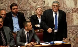 Πολυνομοσχεδιο - Μιχαλολιάκος: Το αποικιοκρατικό αυτό νομοσχέδιο εκχωρεί την εθνική κυριαρχία