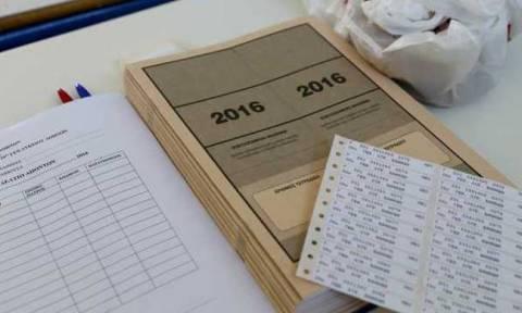 Πανελλήνιες 2016: Η ανακοίνωση του υπουργείου για τις βάσεις 2016