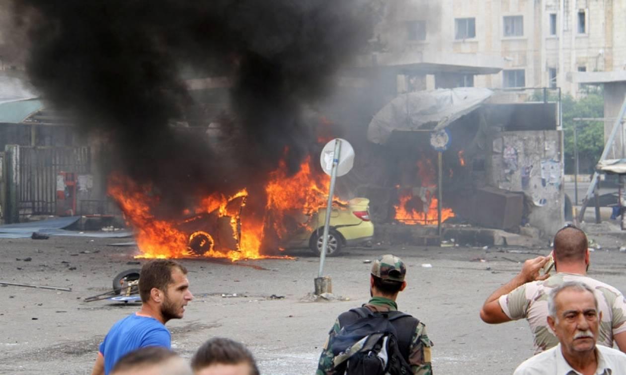 Μπαράζ ισχυρών εκρήξεων κοντά σε ρωσικές βάσεις στη Συρία με δεκάδες νεκρούς (Pics & Vid)