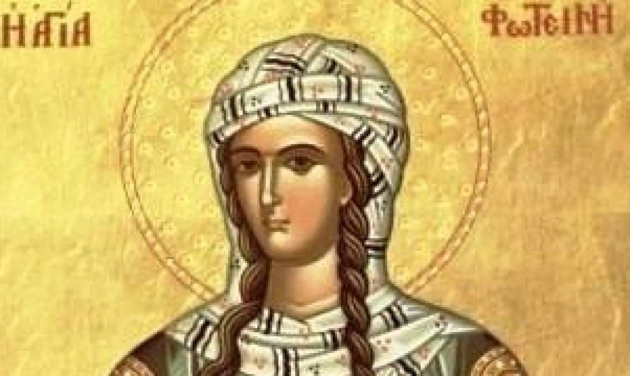 Το Ιερό Λείψανο της Αγίας Φωτεινής της Σαμαρείτιδος στον Υμηττό