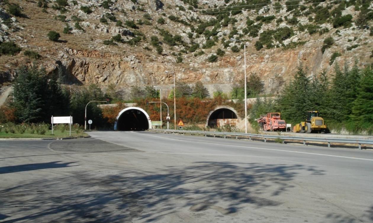 Προσοχή! Κλειστή η σήραγγα Νεοχωρίου στον αυτοκινητόδρομο Κορίνθου - Τρίπολης