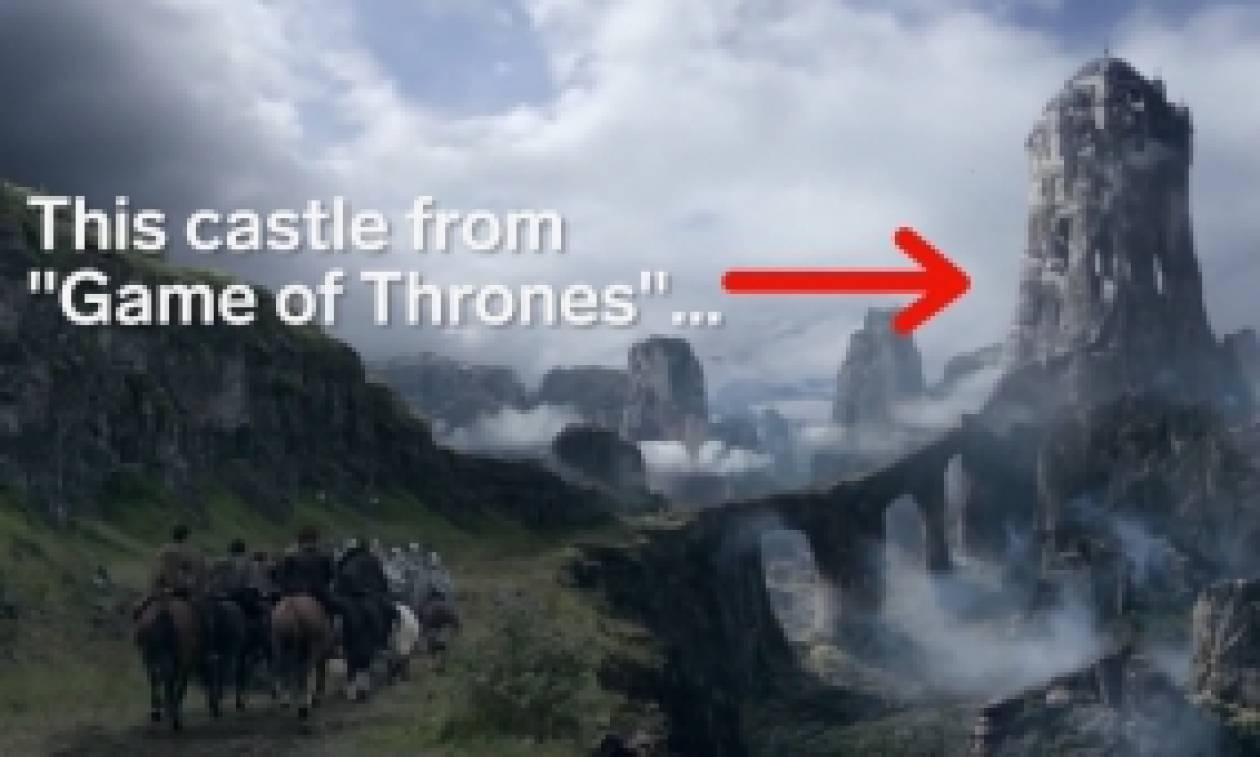 Game of Thrones: Σε ποιο μέρος της Ελλάδας βασίστηκε αυτό το κάστρο; (video)