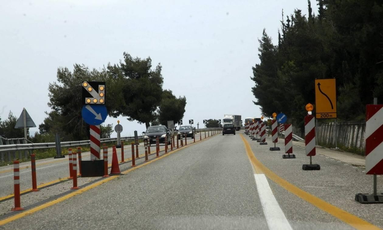 Κλείνει σήμερα (25/5) για μία ώρα η Αθηνών-Πατρών στο ύψος της Ακράτας