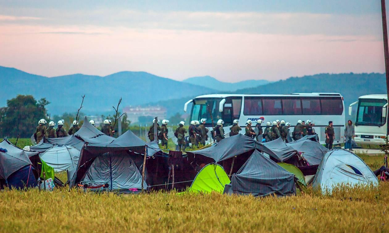 Εκκένωση Ειδομένης: Έφυγαν περισσότεροι από 2.000 πρόσφυγες κι έπεται συνέχεια