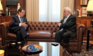 Παυλόπουλος σε Αναστασιάδη: Χρειαζόμαστε μια Κύπρο κυρίαρχη, χωρίς καμία έκπτωση