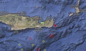Σεισμός Κρήτη: Στο «χορό» των Ρίχτερ το νησί – Νέος σεισμός μετά τον ισχυρό των 5,5 βαθμών