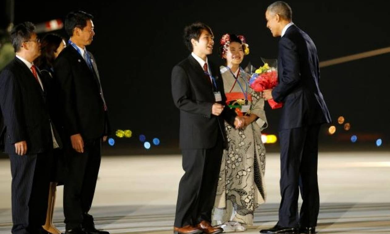 Στην Ιαπωνία ο Ομπάμα για τη Σύνοδο της G7 - Στο τραπέζι των συνομιλιών τρομοκρατία και προσφυγικό