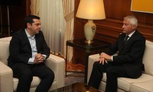 Συνάντηση Τσίπρα με τον Γραμματέα του Συμβουλίου της Ευρώπης